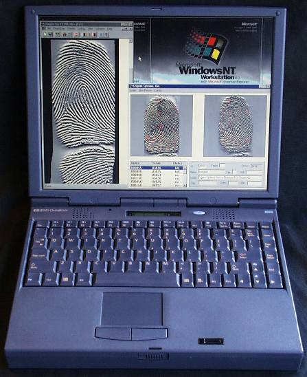 Biometrics Notebooks With Fingerprint Sensors